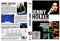 DVD-Cover und Link zu Amazon - Jenny Holzer DVD
